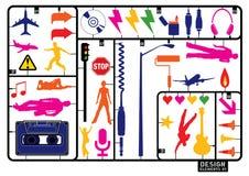 Creative set #21 Stock Images