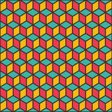 Creative shape design pattern Stock Image