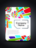 Creative sim card presentation design concept. Stock Photography