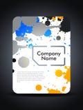 Creative sim card presentation design concept. Stock Photo