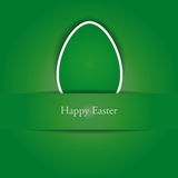 Creative simple background on easter Stock Photography