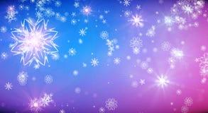Creative snowflake wallpaper Royalty Free Stock Image