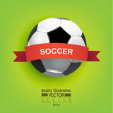 Creative Soccer Football Sport Vector Illustration Royalty Free Stock Photography