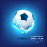 Creative Soccer Football Sport Vector Illustration Stock Photo