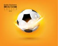 Creative Soccer Football Sport Vector Illustration Stock Photo