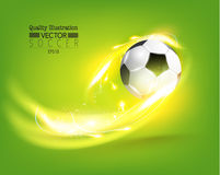 Creative Soccer Football Sport Vector Illustration. Design Stock Images