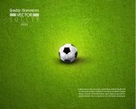 Creative Soccer Football Sport Vector Illustration Royalty Free Stock Image