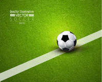 Creative Soccer Football Sport Vector Illustration Stock Images