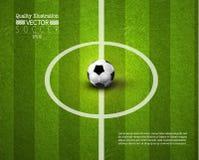 Creative Soccer Football Sport Vector Illustration Stock Photos