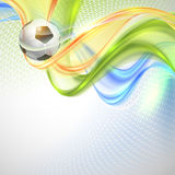 Creative Soccer Vector Design Royalty Free Stock Photography