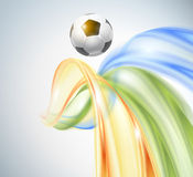 Creative Soccer Vector Design Royalty Free Stock Images