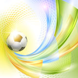 Creative Soccer Vector Design Stock Photography