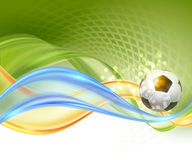 Creative Soccer Vector Design Stock Images