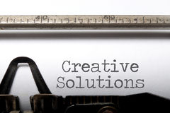 Creative solutions Royalty Free Stock Images
