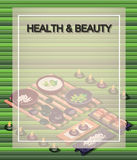 Creative Spa poster Template Brochure Vector Paper Design Template Stock Photography