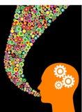 Creative speech illustration