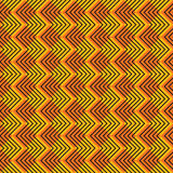 Creative square design pattern. Creative zig-zag strip square design pattern background vector Stock Photo