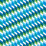 Creative square pattern background Stock Photo
