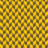 Creative square pattern background. Abstract yellow square pattern background Royalty Free Stock Photos