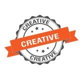 Creative stamp illustration. Creative stamp seal illustration design Stock Photo