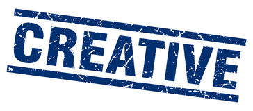 Creative stamp Royalty Free Stock Photography