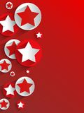 Creative Stars background Stock Images