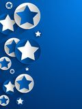 Creative Stars background Royalty Free Stock Image
