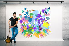 Creative startup concept Stock Photography