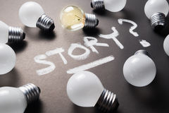 Creative Story Stock Photography