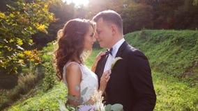 Creative stylish wedding ceremony stock video