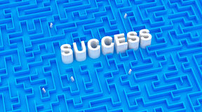 Creative success concept Stock Images