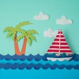 Creative summer background Stock Photo
