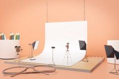 Creative supplies photo studio Stock Images