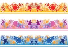 Creative swirls Royalty Free Stock Images