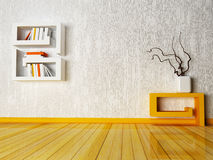 A creative table and a shelf Stock Photography