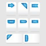 Creative Tag label Stock Image