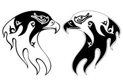Creative Tattoo of an eagle Illustration Royalty Free Stock Images