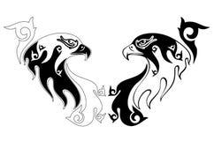 Creative Tattoo of an eagle Illustration Royalty Free Stock Photo