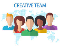 Creative Team Concept Royalty Free Stock Images