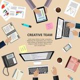Creative team concept Stock Photos