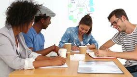 Creative team having a briefing
