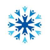 Creative teamwork concept design Royalty Free Stock Photos
