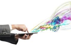 Creative technology Stock Image