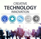 Creative Technology Innovation Media Digital Concept Royalty Free Stock Photography