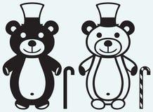 Creative teddy bear Royalty Free Stock Photography