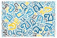 Creative Thai alphabet texture background. High resolution vector illustration