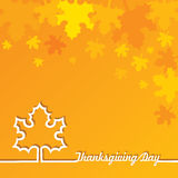 Creative Thanksgiving Day Background Stock Photo