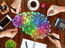 Creative thinking concept Stock Image
