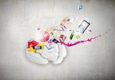 Creative thinking Stock Photos