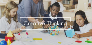 Creative Thinking Creativity Create Process Concept Royalty Free Stock Image